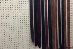 Belts handmade by me